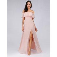 015f644cc97f od 2 290 Kč · Ever Pretty šaty s volánkem 7679 světle růžová