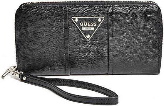 97031d44d16 Guess peněženka Cooper Color Blocked Zip Around černá od 2 780 Kč -  Heureka.cz