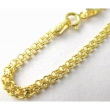 Mohutný široký zlatý náramek 3640065