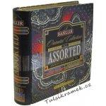 Basilur Tea Export KNIHA ASSORTED ORIENT PLECH PORCOVANÝ 32 sáčků