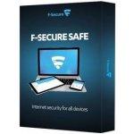 F-Secure SAFE 3 lic. 1 rok (FCFXBR1N003G2)
