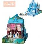 Trefl Sada magická hrací 3D zámek model Frozen (Ledové Království) karton