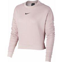 a839a9c280 Nike Dry Top LS Crewneck Crop W růžová 889243-684