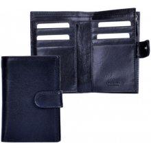 HELLIX Dámská kožená peněženka P-1502 černá