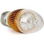 LED Light LED žárovka svíčka E27 3W bílá Teplá bílá