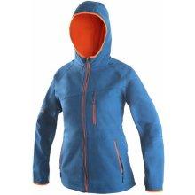 Canis Leduc dámská softshellová bunda modro oranžová