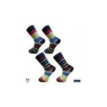 f02c8b0f6c7 Pondy ponožky pánské froté design barevné PRUHY