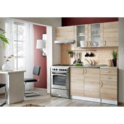 Kuchyně Furnival JOLANA 120/180 cm, dub sonoma