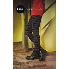 Dámské punčochové kalhoty Gatta G88.716 Trendyline Cotton vz.01 olivová c7ab7d9b49