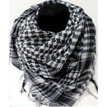 ffe22a0eb2a Arabský šátek arafat palestina bílá