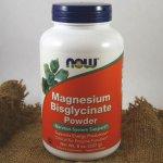 Now Magnesium Bisglycinate hořčík bisglycinát prášek 227 g