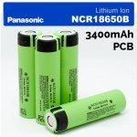 Panasonic Akumulátor Li-Ion 18650 3400mAh s PCB