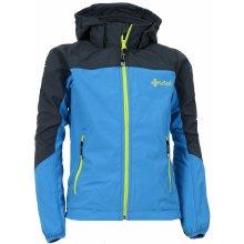 Kilpi Elia-J HJ0043KI dětská softshellová bunda modrá