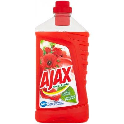 Ajax na podlahu Red Flowers 1 l