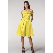 Closet společenské šaty Diana hořčicová 62536b4a5c