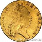 Guinea Zlatá britská půl George III.