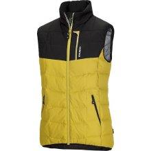 Husky Florel žlutá Pánská péřová vesta