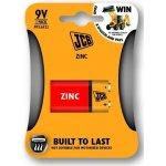 Baterie JCB zinko-chlorid 6F22/9V 2ks