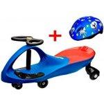 Lukland PlasmaCar vozítko s volantem a přilbou oranžové