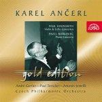 Česká filharmonie/Ančerl Karel - Ančerl Gold Edition 30 Hindemith : Koncert pro housle a orch.,Koncert pro violoncello a orch. / Bořkovec : Koncert pro klavír a orch. CD