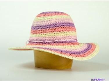 9e5fb2ddd72 Karpet dámský klobouk papírový s krempou růžový od 300 Kč - Heureka.cz