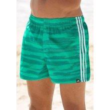Adidas Performance Šortkové plavky, zelená-bílá, L (54-56)