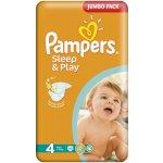 Pampers Sleep&play jumbo maxi 68ks