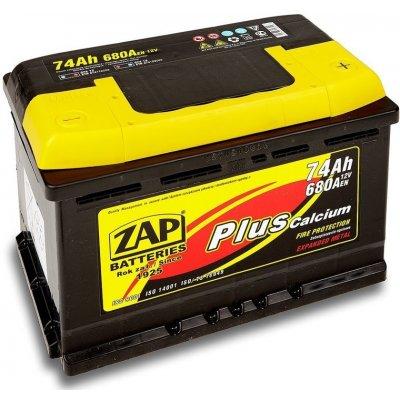 ZAP Plus 12V 74Ah 680A 57412