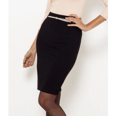 Camaieu pouzdrová sukně černá