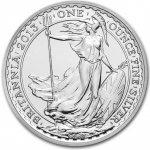 Britannia Stříbrná mince 1 Oz 2013