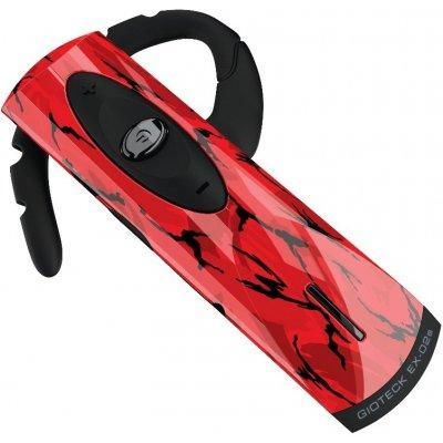 Gioteck EX-02 Red Camo Bluetooth Headset