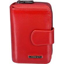 Lorenti Dámská kožená peněženka italská malá červená 76115 RED