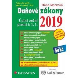 Daňové zákony 2019 - Marková Hana