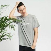 Carhartt WIP Script T Shirt melange šedé