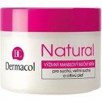 Dermacol Natural Výživný mandlový noční krém 50 ml