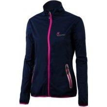 Klimatex Lucy1 Softshell light dámská bunda tm.modrá/fialová