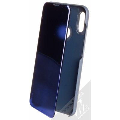 Pouzdro Vennus Clear View Huawei Y6 Prime 2019, Y6s, Honor 8A modré