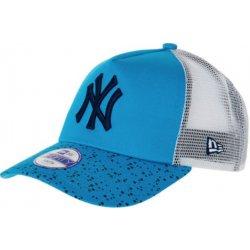 New Era Kšiltovka New Era Azure Blue Splatter Print Cap Trucker ... 3de1bd54e5d4