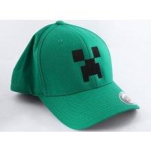 a6d0689dbf JNX Minecraft Creeper čepice zelená
