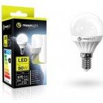 Moonlight LED žárovka E14 220-240V 7W 570lm 6000k studená 25000h 2835 45mm/83mm