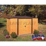 Kovový zahradní domek ARROW WOODLAKE 1012