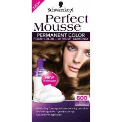 Schwarzkopf perfect mousse permanent color barva na vlasy 600 světle