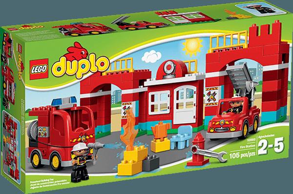 Lego Duplo 10593 Hasičská stanice foto 15 - Heureka.cz