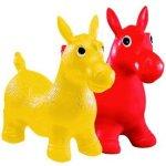 JOHN Hopsadlo skákací zvířátko Pony 60 x 52 cm žlutá