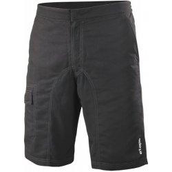 Cyklistické kraťasy Etape. Cyklistické kalhoty Etape Relax pánské volné  černá 7dc63b1157