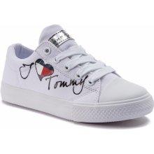 5f4d5a921e810 Tommy Hilfiger Low Cut Lace-Up Sneaker White M T3A4-30260-0616 Bílá