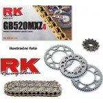 RK Racing Chain Řetězová sada Yamaha XT 600 E 89-98