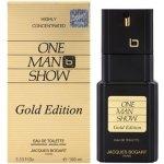 Jacques Bogart One Man Show Gold Edition toaletní voda pánská 100 ml