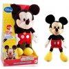 Bambilon Mickey Mouse plyš 33cm na baterie 3xAG13 se zvukem v krabici od 18 měsíců