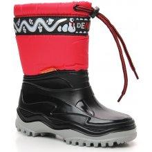 Demar Frost 0376 dětské sněhulky červeno černé